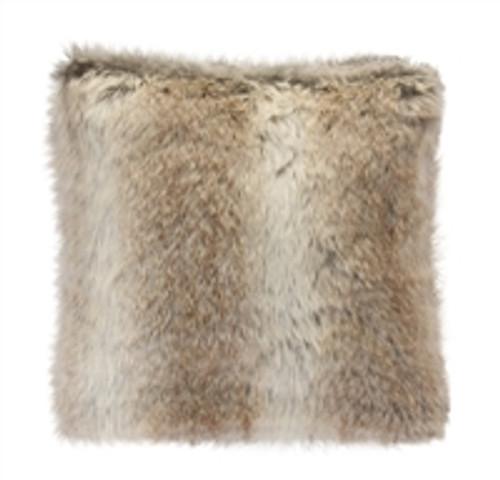 """17""""  Fur Pillow By Melrose International"""
