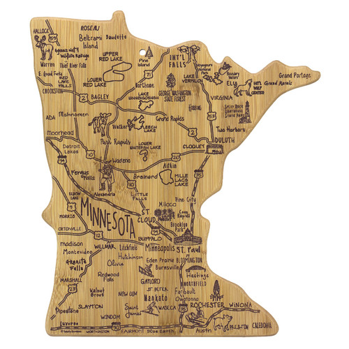 "13"" Destination Minnesota Cutting Board"