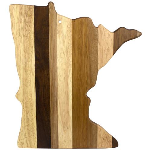 "12 Shiplap ""Rock and Branch Minnesota State Cutting Board"