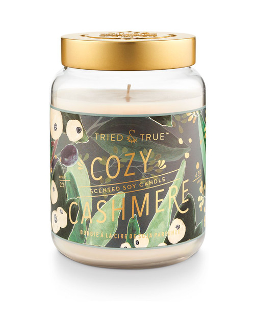 Tried & True Cozy Cashmere Large Extra Jar Candle