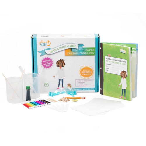 Girls Discover Science ~ Paper Chromatography: The Art & Science of Color Educational Kit ~ Kids 8-12