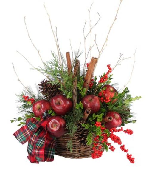 Cinnamon & Apples Holiday Basket