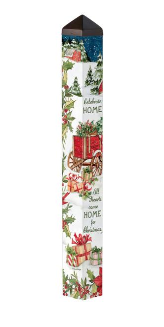 "Carolina Christmas 40"" Art Pole"