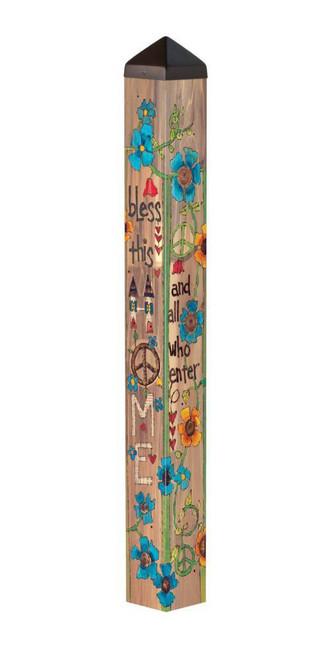 "House Blessing 40"" Art Pole"