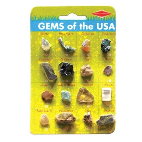 Gems of the USA - Gem Specimen Card