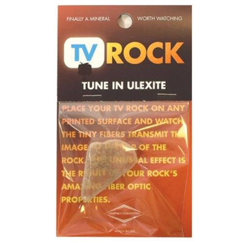 TV Rock - Ulexite Specimen Card