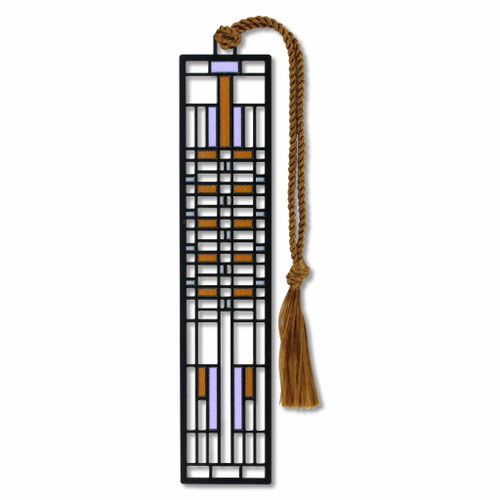 Frank Lloyd Wright - Lawrence Dana House Bookmark - Electro-plated Giclee Print