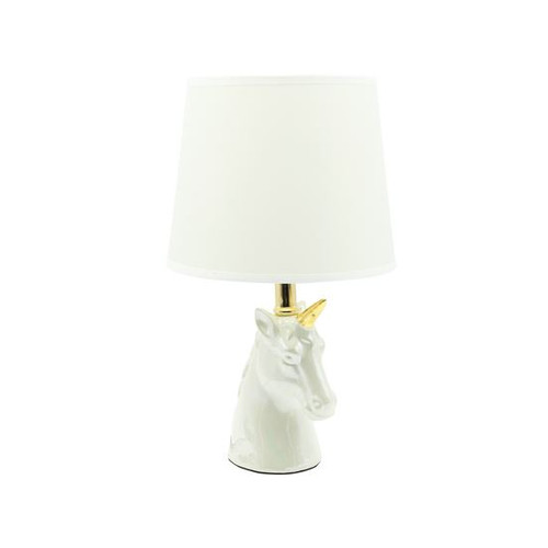 Gold Horned Unicorn Lamp