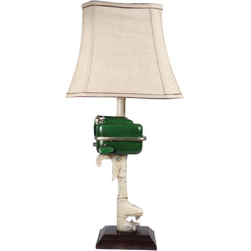 Outboard Motor Table Lamp