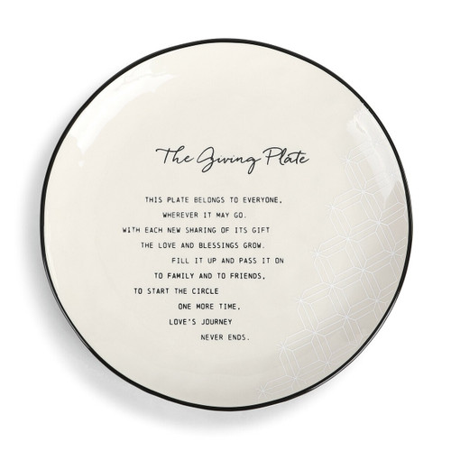 The Giving Plate  by Demdaco