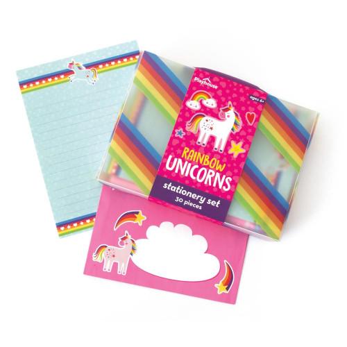 Rainbow Unicorn Stationery Set - Ages 6 and Up