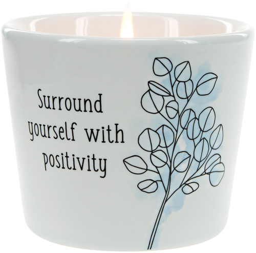 Positivity~ 8oz 100% Soy Candle