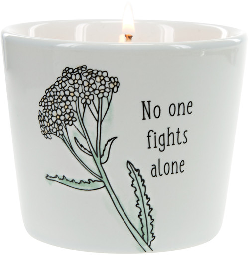 No One Fights Alone~ 8oz 100% Soy Candle