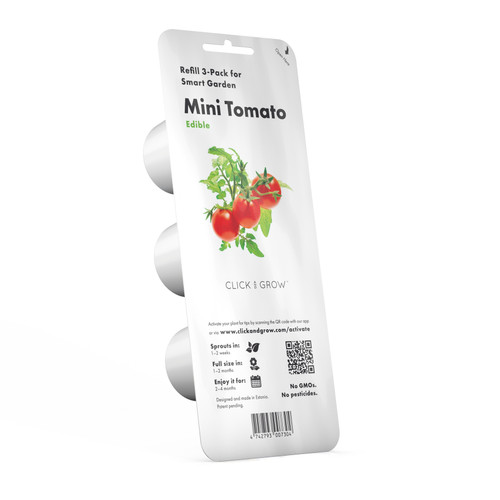 Mini Tomato Plant Pods for Smart Garden by Click and Grow