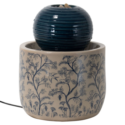Georgie Chinoiserie Tabletop Fountain by Foreside Home & Garden