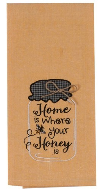 """""""Home is Where Your Honey Is!"""" Tea Towel by Kaydee Designs"""