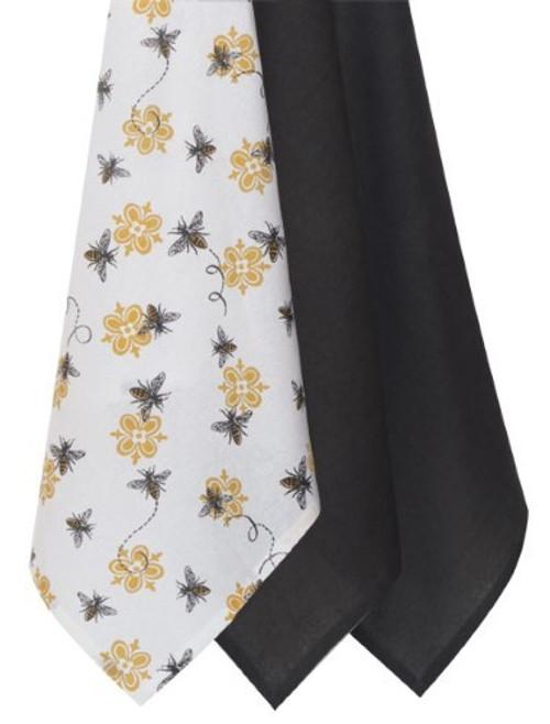 """""""Queen Bee"""" Tea Towel Set of 3 by Kaydee Designs"""