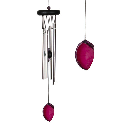 Agate Wind Chime by Woodstock -SMALL RED