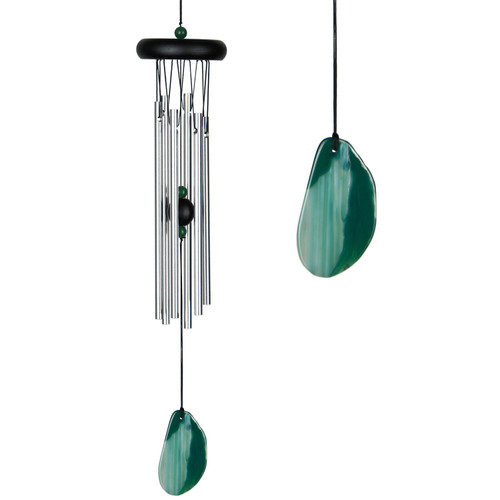 Agate Wind Chime by Woodstock -SMALL GREEN