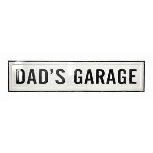 "37.5"" Dad's Garage ~ Metal  Wall Sign"
