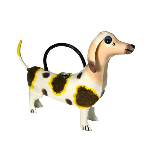 Dora the Dachshund ~ Plant Pals Metal Watering Can