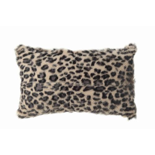 "20"" X 12"" Goat Fur Lumbar Pillow by Creative Co-op"
