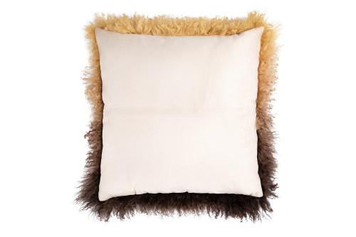 "20"" Square Tibetan Lamb Fur Pillow by Creative Co-op"