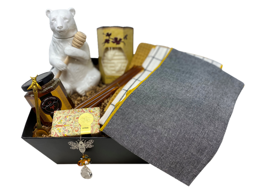 Bee Knees and Honey Premium Gift Basket
