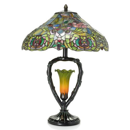 Elizabethan Tiffany Lily Table Memorial Lamp