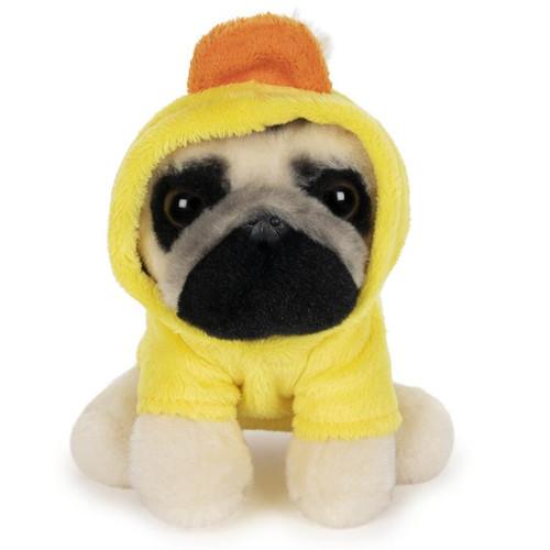 "5"" Doug The Pug Duck Hoodie  Plush  by GUND"