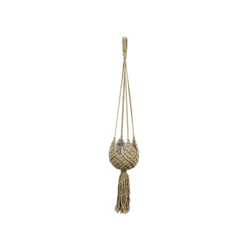 """36"""" Natural Colored Macramé  Plant Hanger by Soul of the Party"""