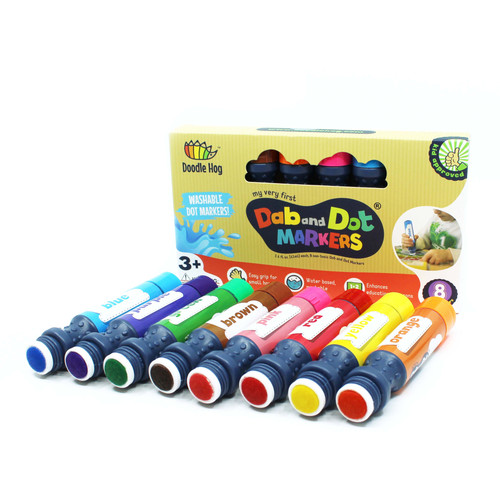 Dab and Dot Markers Set of 8 - Ages 5+