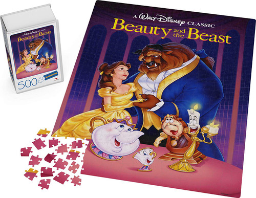Beauty and The Beast Blockbuster  ~ 500 Piece Puzzle