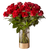 Lovebirds Red Rose Bouquet