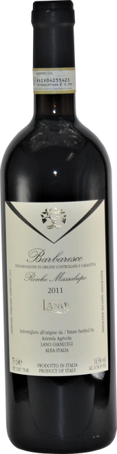 Barbaresco Rocche Massalupo (2011, 750ml)