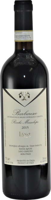 Barbaresco Rocche Massalupo (2015, 750ml)