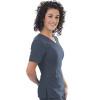 575 Excel 4-Way Stretch  Asymmetrical Zipper Top