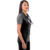 979 Excel 4-Way Stretch Zipper Top