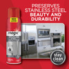 Magic Cleaners 3062 - Stainless Steel Cleaner & Polish, 17 oz. Aerosol - Preserves stainless steel beauty and durability