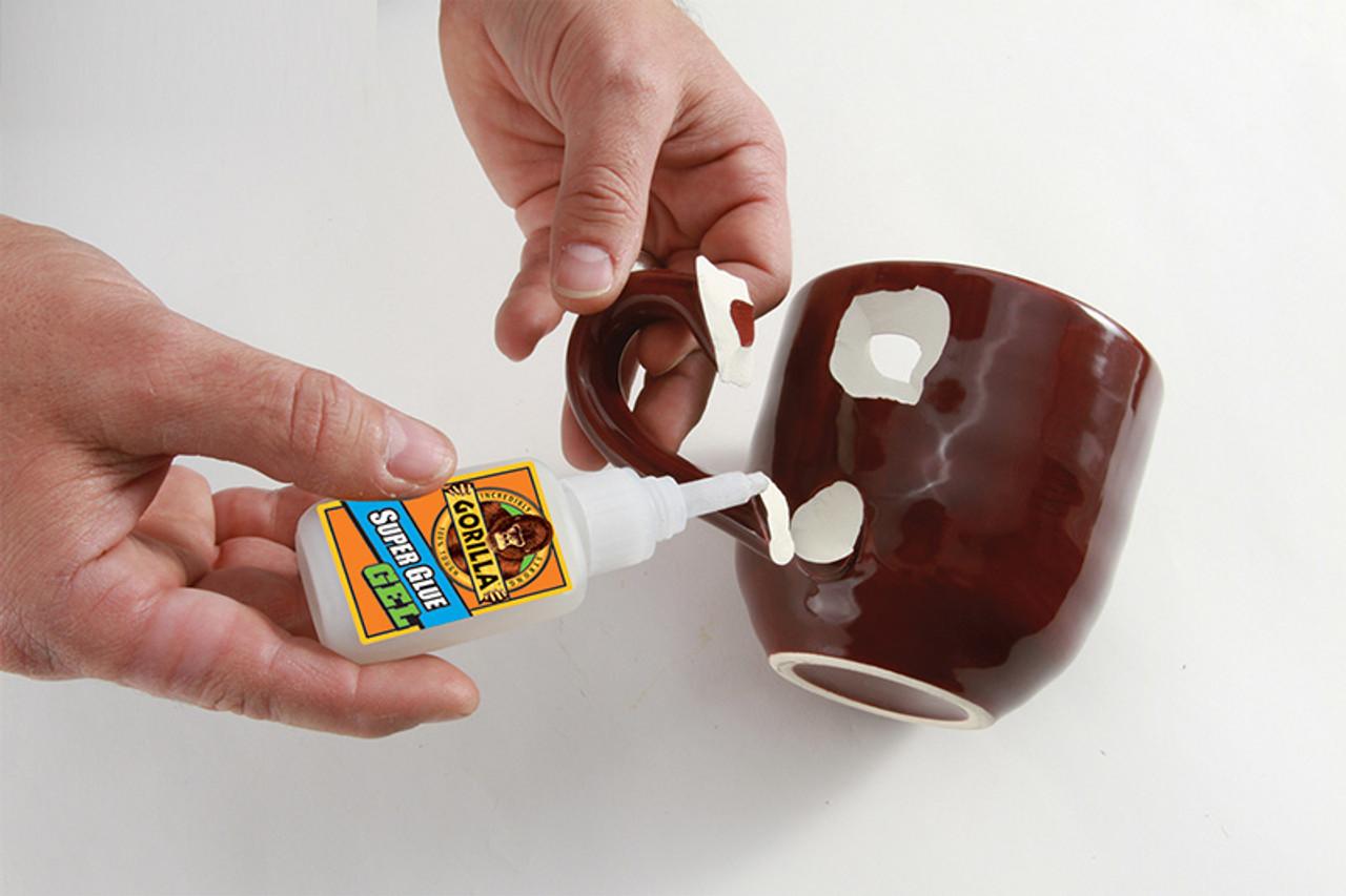 Gorilla Glue 7600103 - Super Glue Gel (15 Gram) - Gluing broken cup