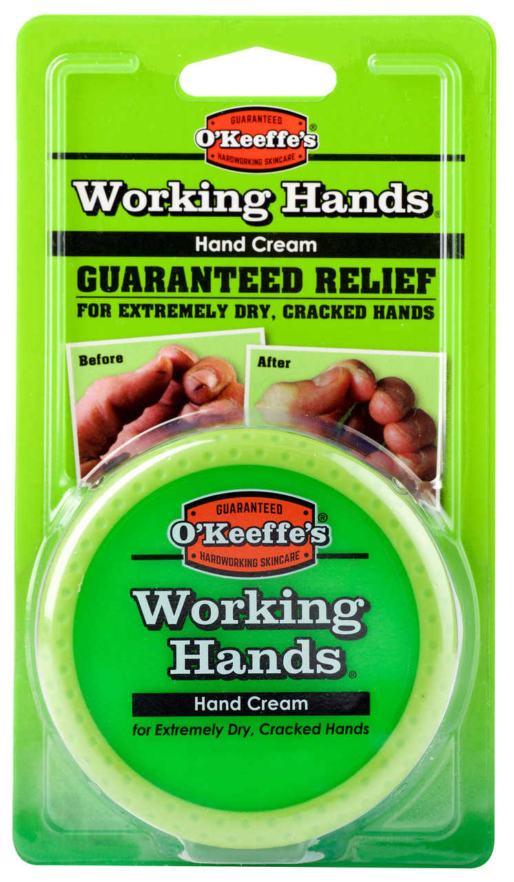 O'Keeffe's K03501 - Working Hands (3.4 Oz. Jar) - Blister Pack