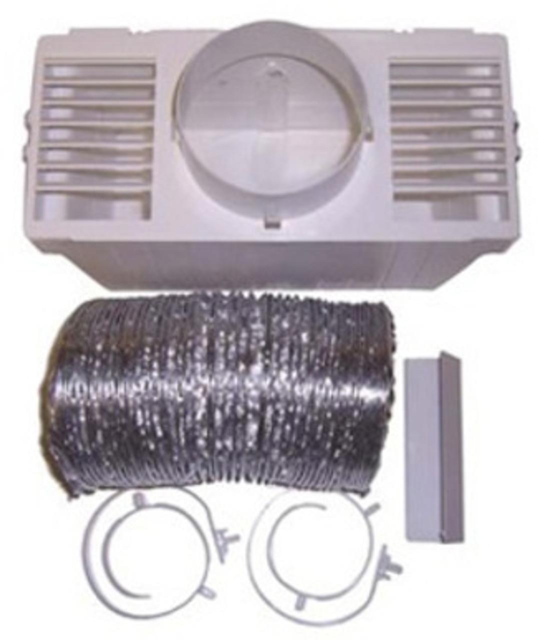 Deflecto LTF - Vent Bucket with Aluminum Hose