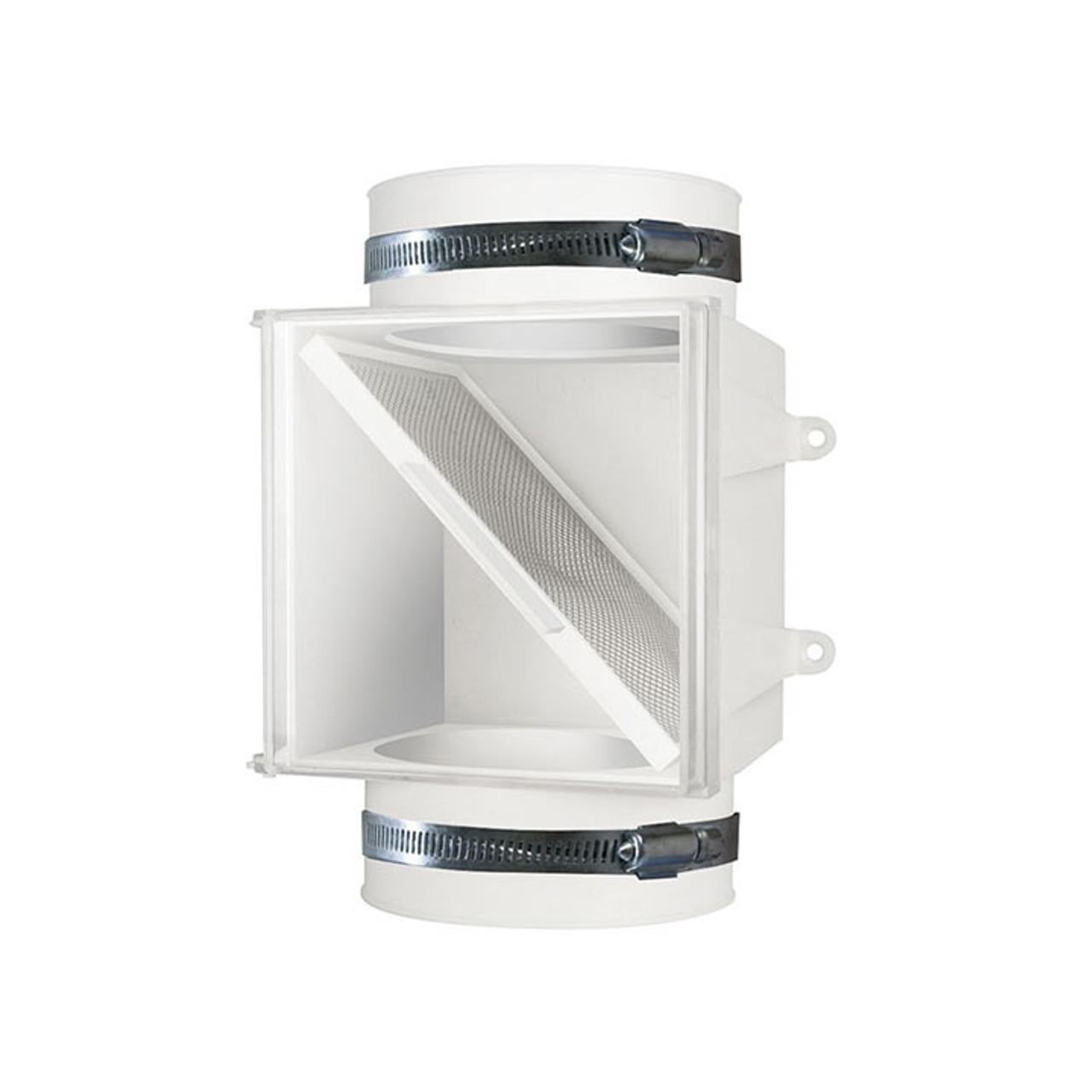 PCLT4WZW Proclean Dryer Duct Lint Trap - Front