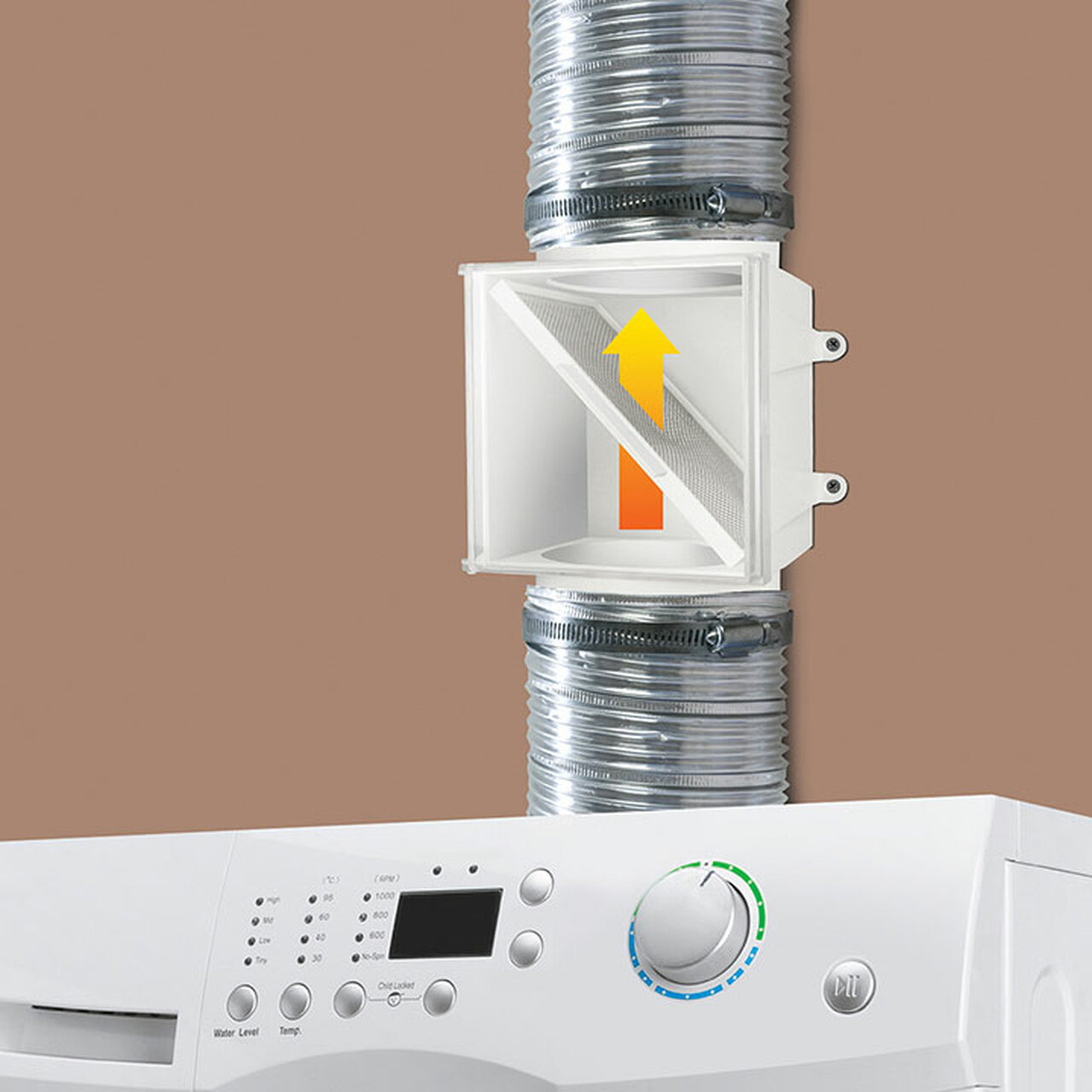PCLT4WZW Proclean Dryer Duct Lint Trap -  How it works
