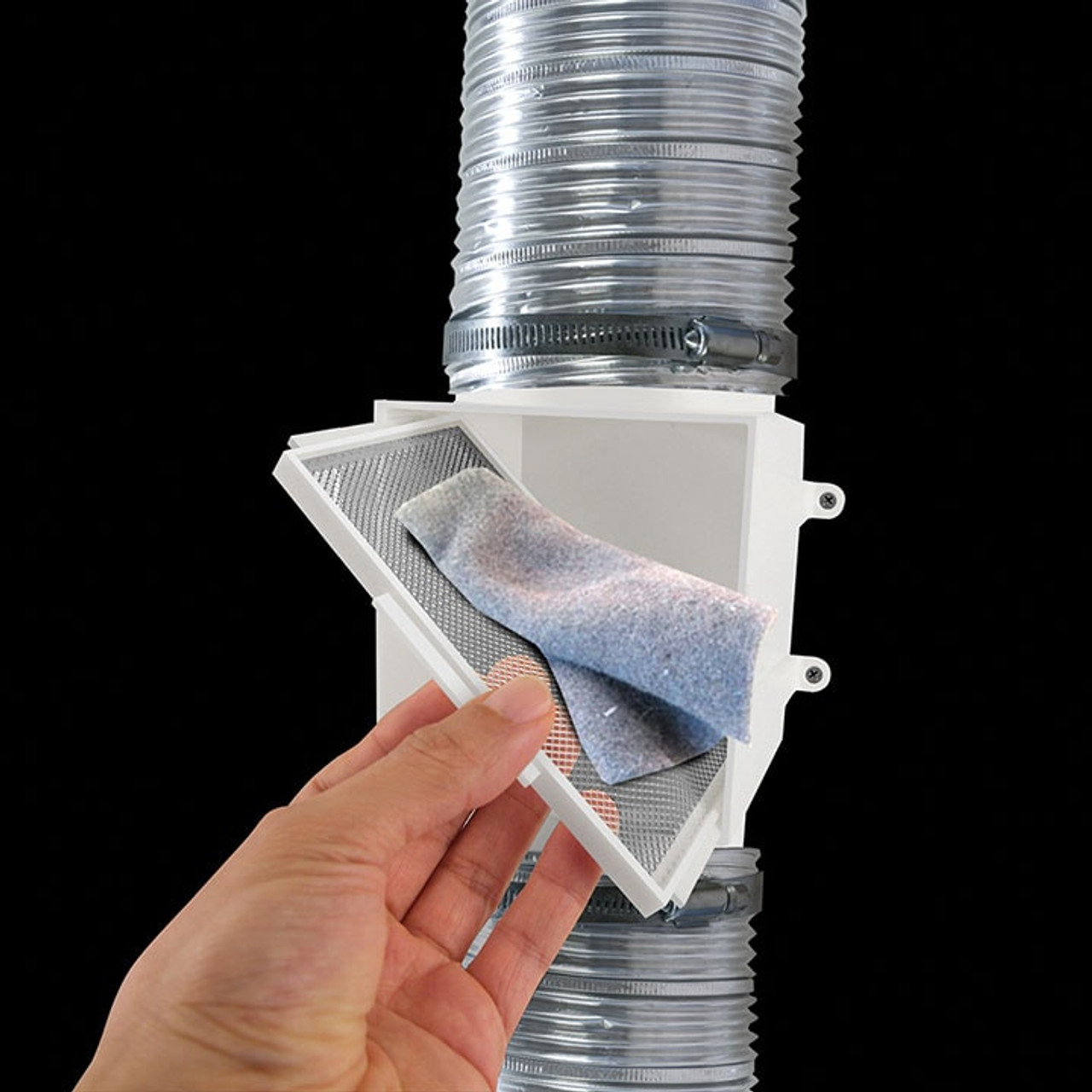 PCLT4WZW Proclean Dryer Duct Lint Trap - How to clean