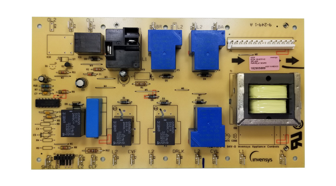 Dacor 92028 - Relay PCB, 105C