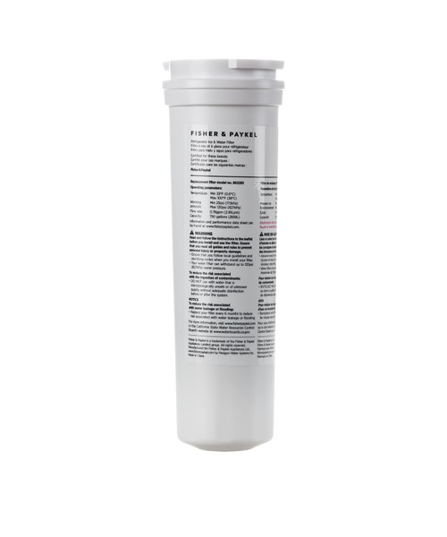 Fisher & Paykel 836848 - Cartridge Filter Water