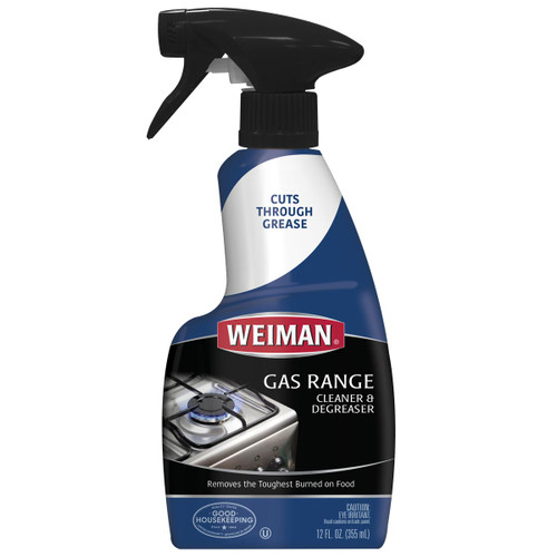 Weiman 79 - Gas Range Cleaner & Degreaser -12 oz.Trigger - Front