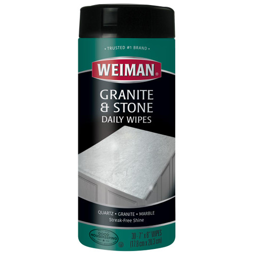Weiman 94 - Granite Wipes 30 count - Front