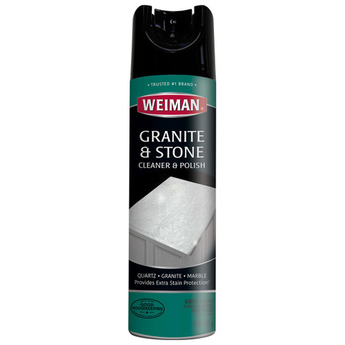 Weiman 503 - Granite & Stone Cleaner & Polish Spray thru Aerosol 17 oz - Front